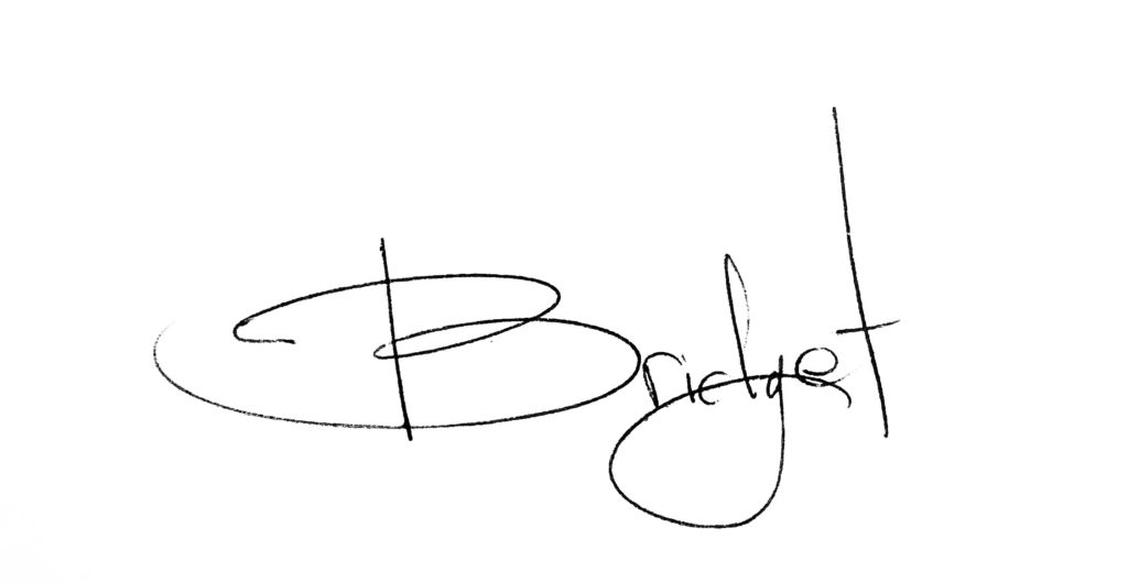 Bridget Ray Signature